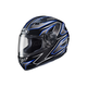 Black/Blue MC-2 CS-R3 Spike Helmet
