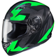 Flat Black/Green MC-4F CS-R3 Treague Helmet