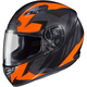 Flat Black/Fluorescent Orange MC-6F CS-R3 Treague Helmet