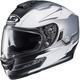Semi-Flat Gray/Gray/White MC-10SF RPHA-ST Zaytun Helmet
