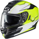 Hi-Vis Green/Flat Black/White MC-4HSF RPHA-ST Zaytun Helmet