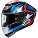 Blue/Red/Black X-Fourteen Bradley 3 TC-1 Helmet