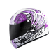White/Purple EXO-R410 Novel Helmet
