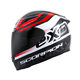 Black/Red EXO-R2000 Fortis Helmet