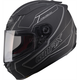 Flat  Black/Silver FF88 Derk Helmet