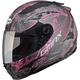 Flat Black/Pink FF88 Versailles Helmet