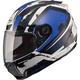 Blue/White/Black FF88 X-Star Helmet
