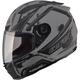 Flat Black/Dark Silver FF88 X-Star Helmet