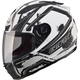 Flat White/White/Black FF88 Helmet