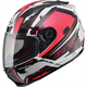 Red/White/Black FF88 X-Star Helmet