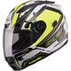 White/Hi-Viz Yellow/Black FF88 X-Star Helmet
