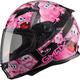 Youth Black/Pink GM49Y Attack Street Helmet