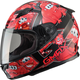 Youth Black/Red GM49Y Attack Street Helmet