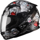 Youth Black/Silver GM49Y Attack Street Helmet