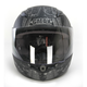 Youth Flat Black/White/Silver GM49Y Trooper Street Helmet