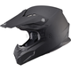 Flat Black MX86 Helmet