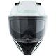 White/Reflective Metro Firefly Modular Helmet