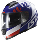 White/Blue/Red Citation Podium Helmet