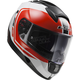 White/Black/Red Citation Wake  Helmet