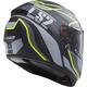 Matte Black/Gray/Yellow Citation Vantage Helmet