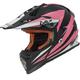Pink/Black Fast Race Helmet