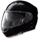 Gloss Black N104 Evo Classic N-Com Modular Helmet
