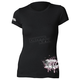 Womens Black Powderpuff T-Shirt