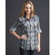 Womens Preston Flannel Shirt