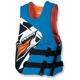 Blue/Orange Rev Side Entry Vest