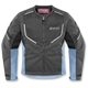 Womens Black/Blue Citadel Jacket