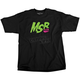 Youth Black/Green Gray Icon T-Shirt