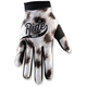 Youth White/Black I-Track Ride Gloves