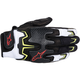 Black/White/Red/Yellow Fighter Air Gloves