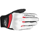 Womens White/Black/Red Stella Spartan Gloves