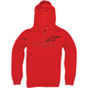 Red Ranking Zip Hoody