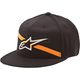 Black Campbell Flatbill Hat