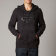 Black Tract Komp Fleece Zip Hoody