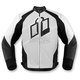 White Hypersport Leather Jacket