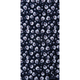 Black Mini Skulls Tube Multi-Wear Headwear - TUBE-64