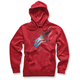 Red Telepathic Ziip Hoody