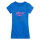 Womens Royal Blue Stant Up T-Shirt