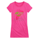 Womens Hot Pink Stant Up T-Shirt