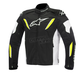 Black/White/Yellow Fluorescent T-GP R Waterproof Jacket