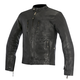 Black Brass Leather Jacket