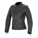Womens Black Shelley Leather Jacket