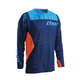 Navy/Flo orange Core Contro Jersey