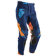 Navy/Flo Orange Core Contro Pants