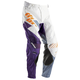 White/Purple Core Merge Pants