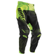 Black/Flo Green Core Hux Pants