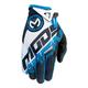 Blue/White SX1 Gloves